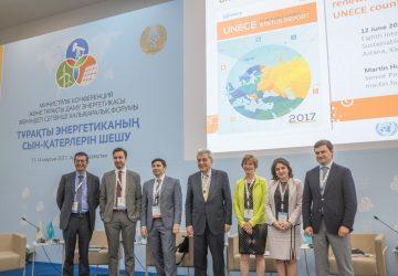 REN21 UNECE Renewable Energy Status Report 2017 launched in Kazakhstan